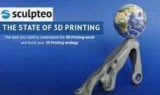 [3D프린터 레포트]The State of 3D Printing by Sculpteo