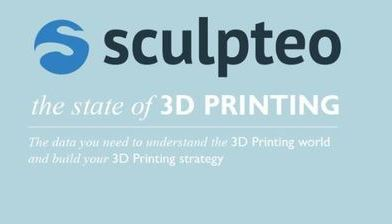 [3D프린터 레포트]The state of  3D Printing by Sculpteo (2018)