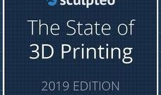 [3D프린터레포트]The state of 3D Printing  by Sculpteo (2019)