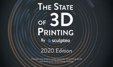 [3D프린터레포트]The state of 3D Printing  by Sculpteo (2020)